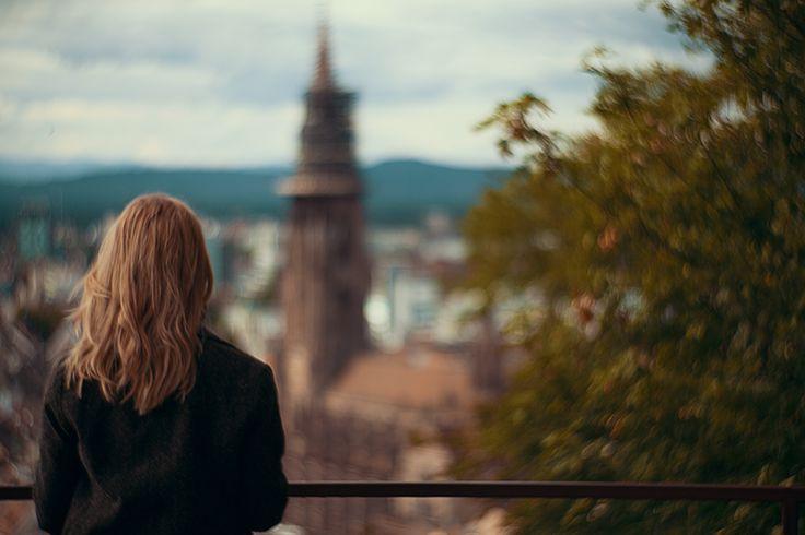 Christina Key beim Schlossplatz Freiburg