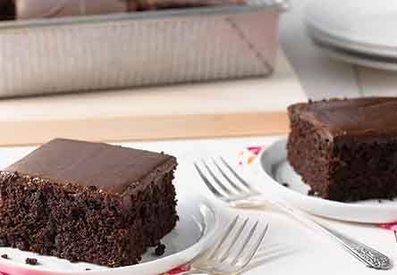 King Arthur Flour's Favorite Fudge Cake