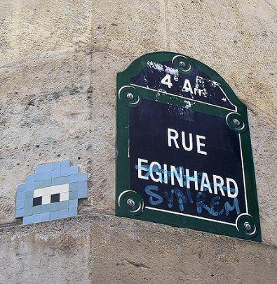 La rue Eginhard  (Paris 4ème)