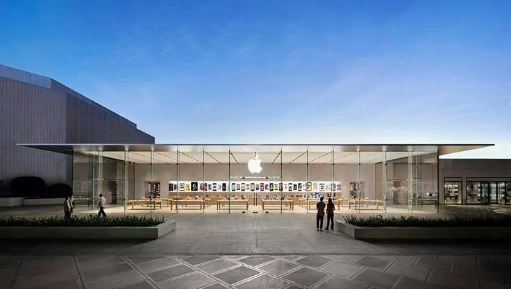 APPLE STORE IN STANFORD UNIVERSITY PALO ALTO CALIFORNIA