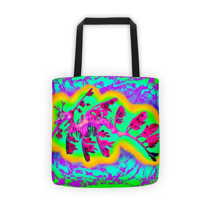 Seattle Sea Dragon by pwrflwr Tote bag