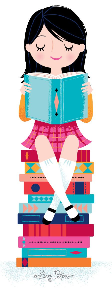 #stacypeterson #read #illustration ©Stacy Peterson