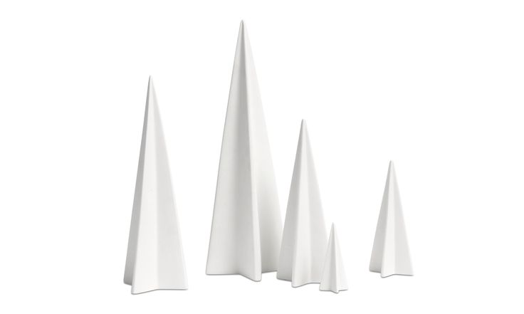 Christmas accessories - Christmas Tree sculpture - White - Ceramic