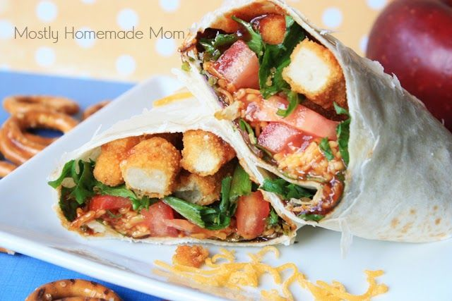 Mostly Homemade Mom: Copycat BBQ Chicken Snack Wrap & LeapPad Ultra Sweepstakes!