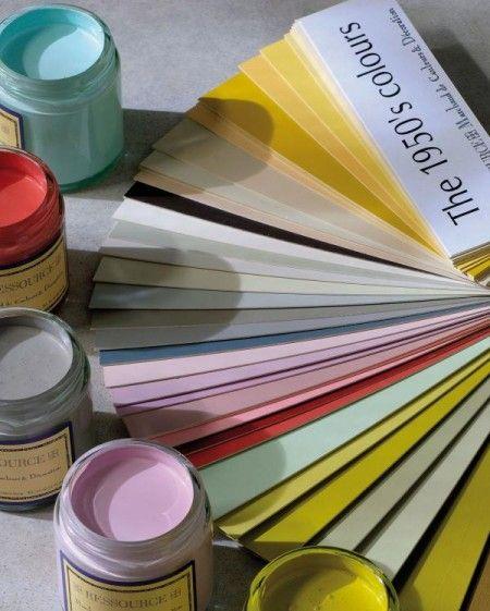1000 id es sur le th me couleurs de peinture vintage sur pinterest couleurs - Peinture ressource nuancier ...