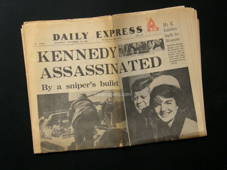 JFK Assassination.  I was only 5 1/2 but I have a crystal clear Kodak moment memory of that day.  I was playing at my friend Mimi's house.  When the news report came on, her mother screamed.  We hid behind the sofa & watched her standing in front of the TV wailing and crying.  Where were you?