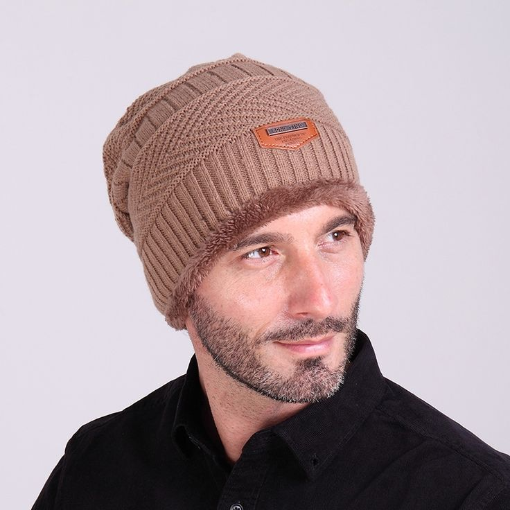 5.99$  Watch here - http://ali9ex.shopchina.info/go.php?t=32526498195 - 2017 Brand New autumn winter Keep warm with soft nap hip hot cap Knitted hat Men and women Ski Hats & Caps Skullies & Beanies  #buyonlinewebsite