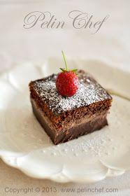 sihirli çikolatalı kek