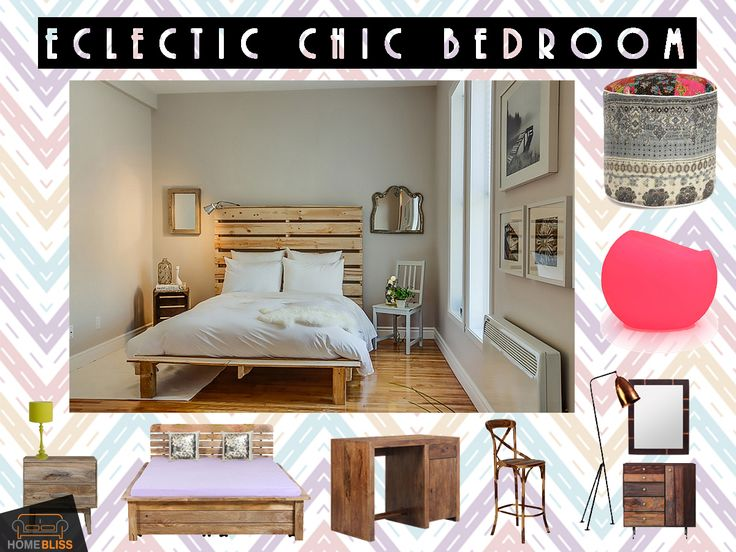 Collection by homebliss eclectic chic bedroom
