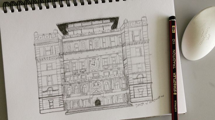 HB Pencil Drawing - Customs House  This drawing is all about repetition of lines and shapes. Sometimes you need to make time for what you draw but if you love drawing, time passes so quick! Enjoy and as always have fun drawing. Please make sure to like this video if you learned something new! Share it if you believe someone else might learn something new either. Leave us comment as we love to read your thoughts, and as always Scratch to reality.