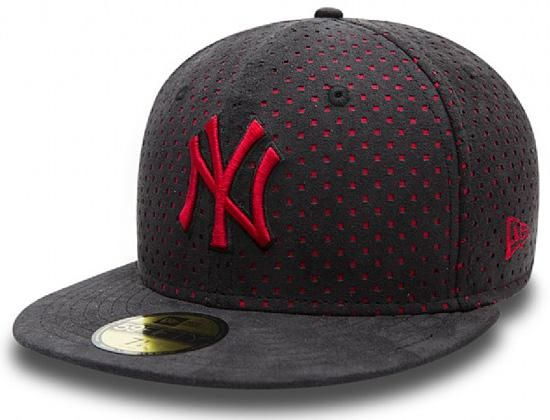Suede Performance NY Yankees 59Fifty Fitted Cap by NEW ERA x MLB