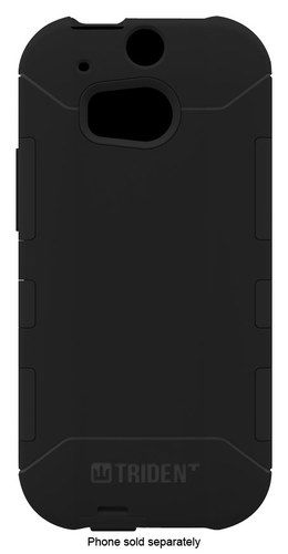 Trident - Aegis Case for HTC One (M8) Cell Phones - Black