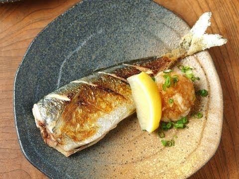 フライパンでつくる、あじの塩焼き、あじのさばき方|魚料理と簡単レシピ