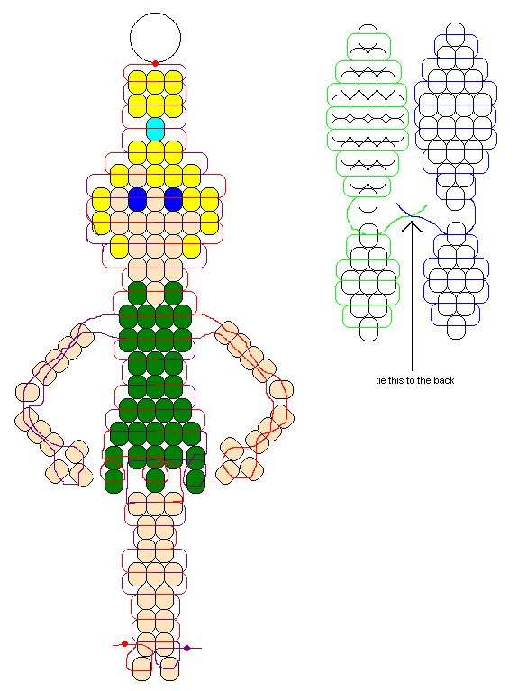 78 best images about pony bead patterns on