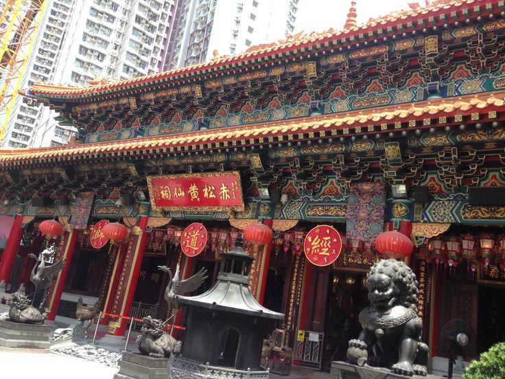 Miếu Huỳnh Đại Tiên - Hong Kong