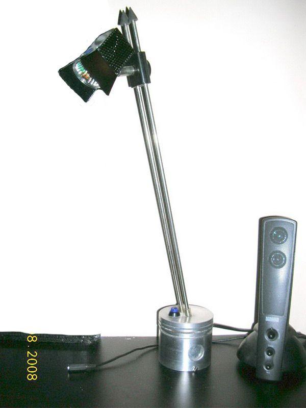 Piston table lamp