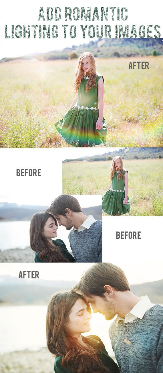 Photoshop Lighting Overlays (Photoshop & Photoshop Elements)