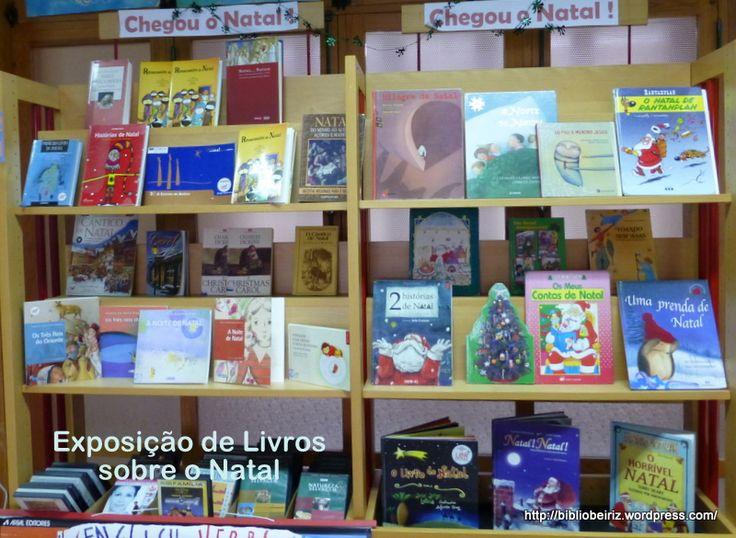Exposição de Livros sobre Natal