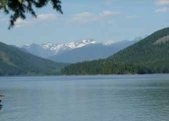 Sugar Lake, BC a beautiful, rustic forestry campground. No cell service, no internet, just a beautiful, natural setting.