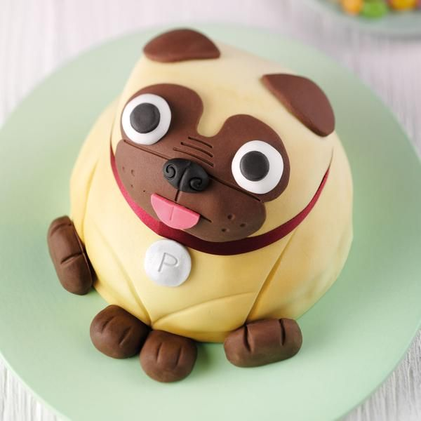 Pablo the Pug celebration cake – £10