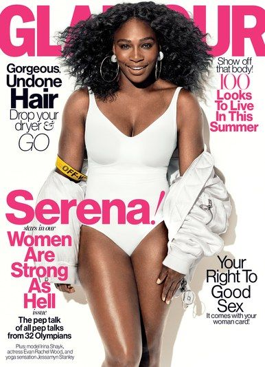 Serena Williams, one of the world's greatest athletes, is Glamour's July cover star for the Women Are Strong As Hell issue.