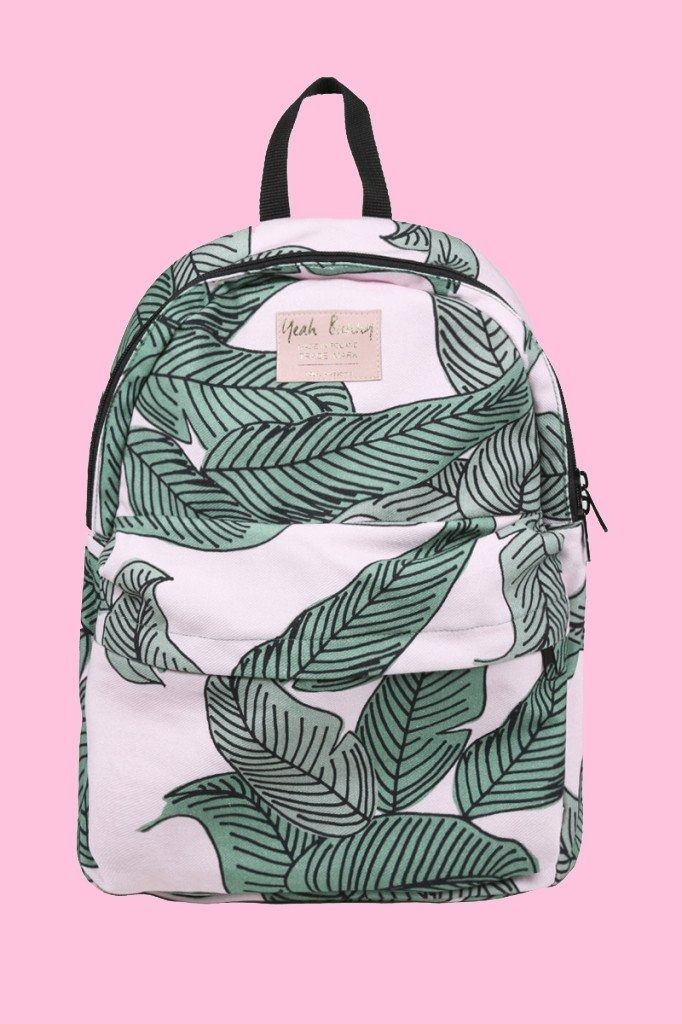 """Too cool for school? No problem! You can take this backpack wherever you want. - Fits A4 folders too (length: 15.75"""" width: 11.42""""). Black zip is better than no zip. - 100% cotton is fine anyway - Iro"""