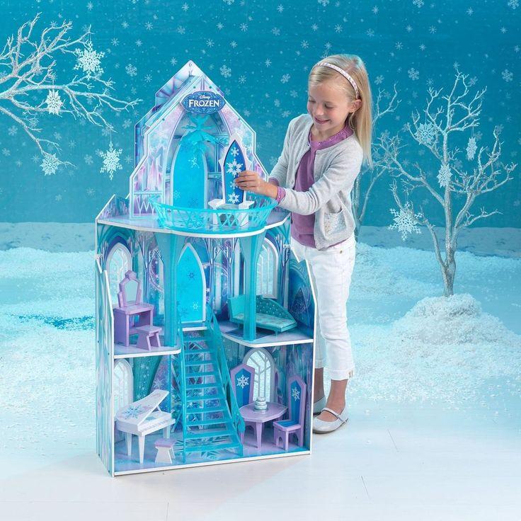 Disney Frozen Dollhouse Girls Dream Barbie  Doll House Castle Princess Clearance #KidKraft