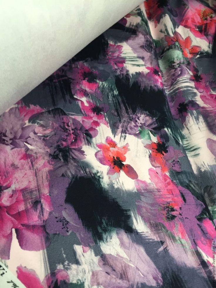Купить Blumarine пунто милано , Италия - разноцветный, итальянские ткани, товары для творчества, ткани для рукоделия