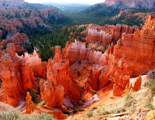 Check. Even though it's bad luck for us.  It was gorgeous.   Bryce Canyon, Bryce, Utah