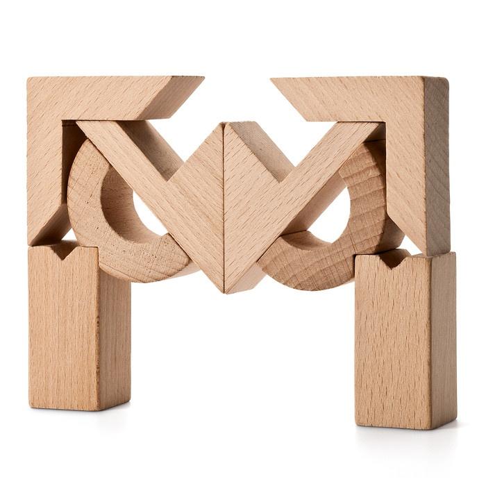 Japanischer Holzbaukasten | Konstruktionsspiele