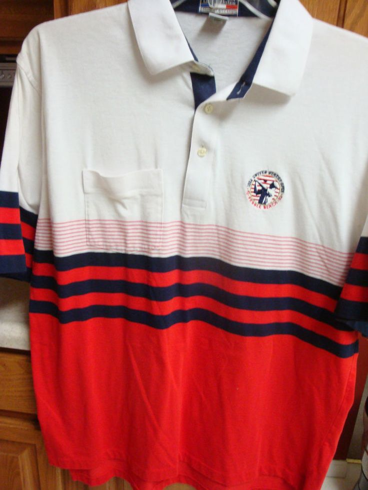 US Open Golf Collection Mens Polo Shirt XL EXTRA LARGE Pebble Beach 1992 #USOpenGolfCollection #PoloRugby