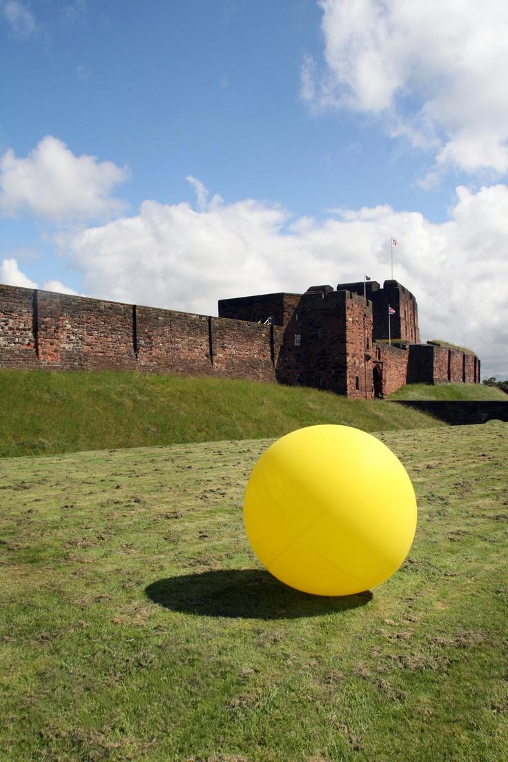 C-Art Cumbria Artists Open Studios 2012 - Carlisle Castle and Hadrians Wall