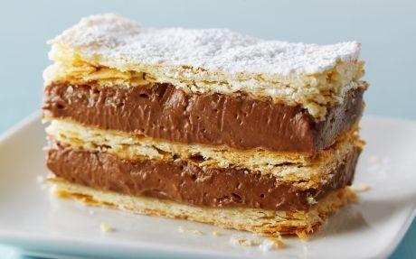 Chocolate Hazelnut Napoleon Recipe by Anna Olson