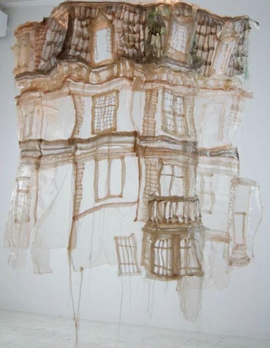 Jannick Deslauriers  http://beautifuldecay.com/2012/04/09/jannick-deslauriers-transparent-soft-sculptures/