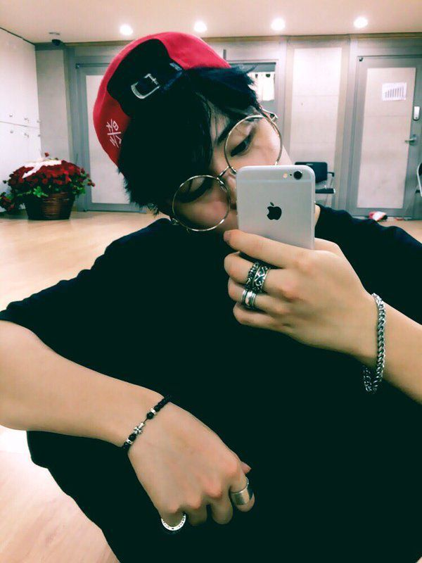 Jimin is a dancer/dance teacher who shares a studio with Hoseok. He is the oldest part of the JiTaeKook marriage/relationship. He is a fairy.
