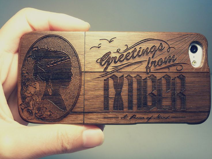 Etched Phone Case #GreetingsfromAmber