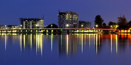 Interior Design and Home Decoration Artwork from Art Australia - buy this original signed print in 3 sizes.  Mandurah by David Rennie available via http://www.art-australia.com/mandurah-by-david-rennie/