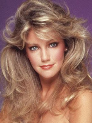 Heather Locklear As Sabrina Jones In The 80 S Hair