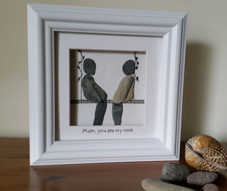 #PebbleArt Unique Mother's Day gifts from Cornish Pebble Art https://www.facebook.com/cornwallpebbleart/