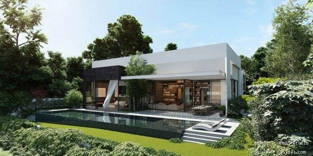 Modern House พื้นที่ส่วนตัว สุขแบบส่วนตัว « บ้านไอเดีย แบบบ้าน ตกแต่งบ้าน เว็บไซต์เพื่อบ้านคุณ