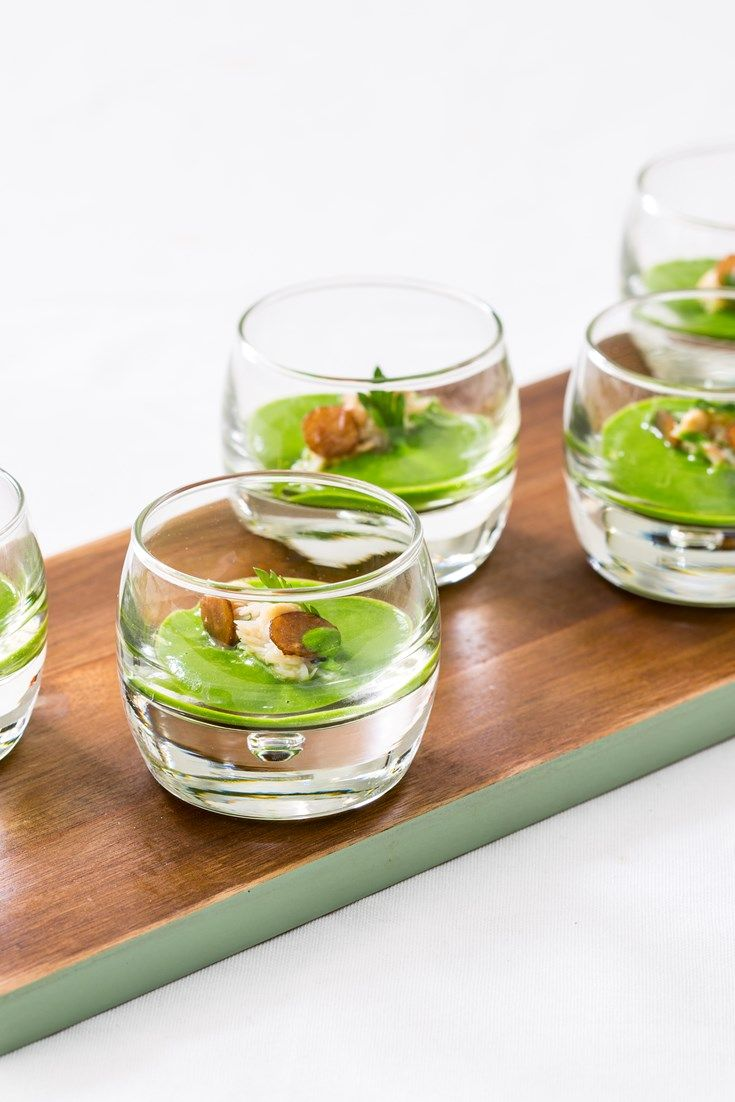 These vibrant crab canapés will make a stunning addition to any foodie party.