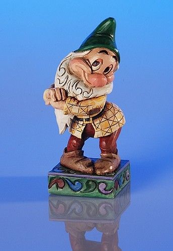 """Heartwood Creek by Jim Shore Disney Traditions Snow White's BASHFUL Specifications Size: 4.5"""" H Materials : Stone Resin. Your Price: $18.00"""