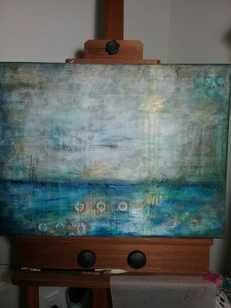 Abstract,  Turquoise
