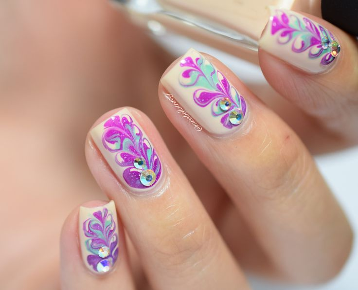238 best nail art water marbling other marbling dry brushing wnac2015 dry marble nail art prinsesfo Image collections