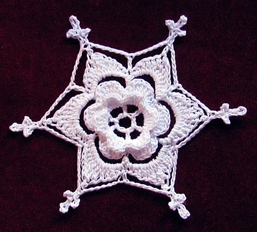 Free Irish Crochet Snowflake Pattern : 17 Best images about Crochet on Pinterest Free pattern ...