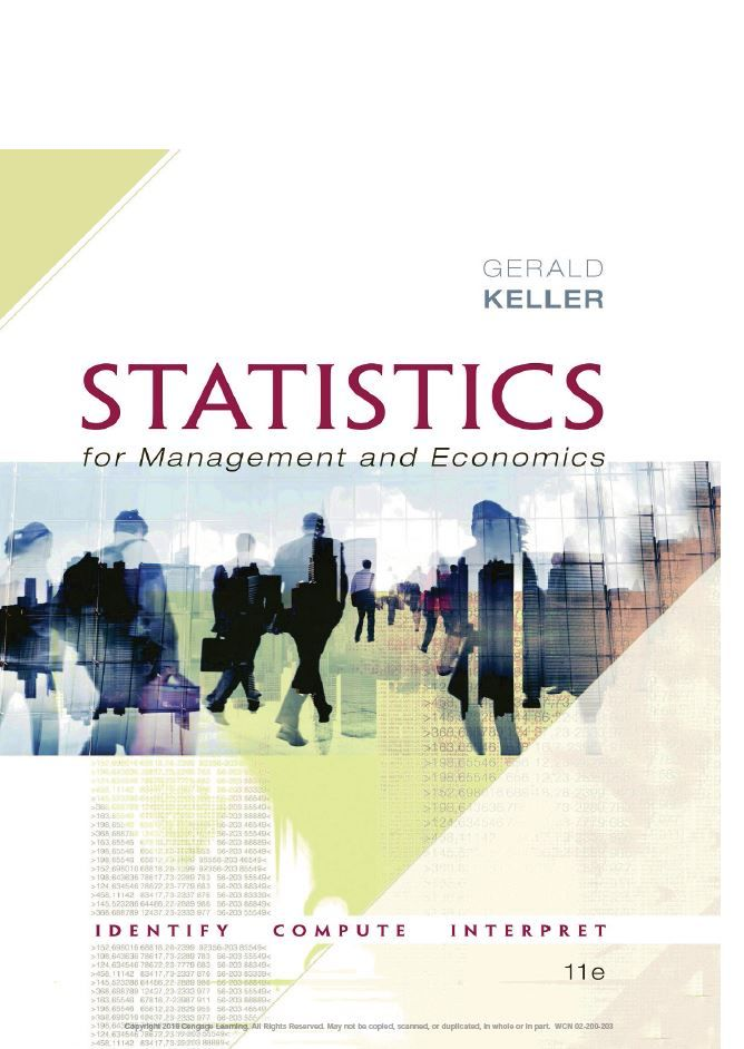 Statistics For Management And Economics 11th Edition By