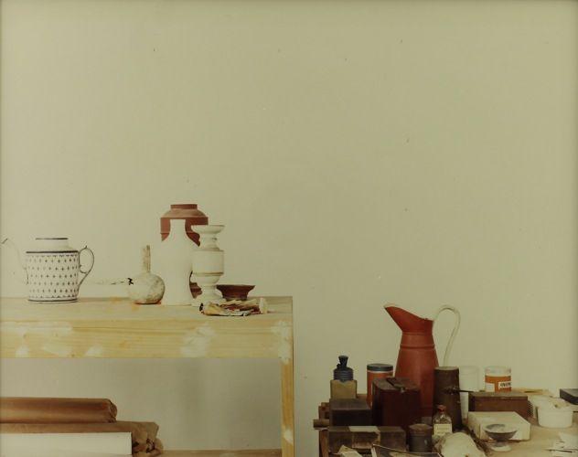 LUIGI GHIRRI Atelier Morandi Bologna, 1989-90
