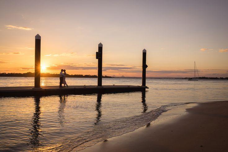 Brisbane Wedding Photographer, wedding, sunset photos