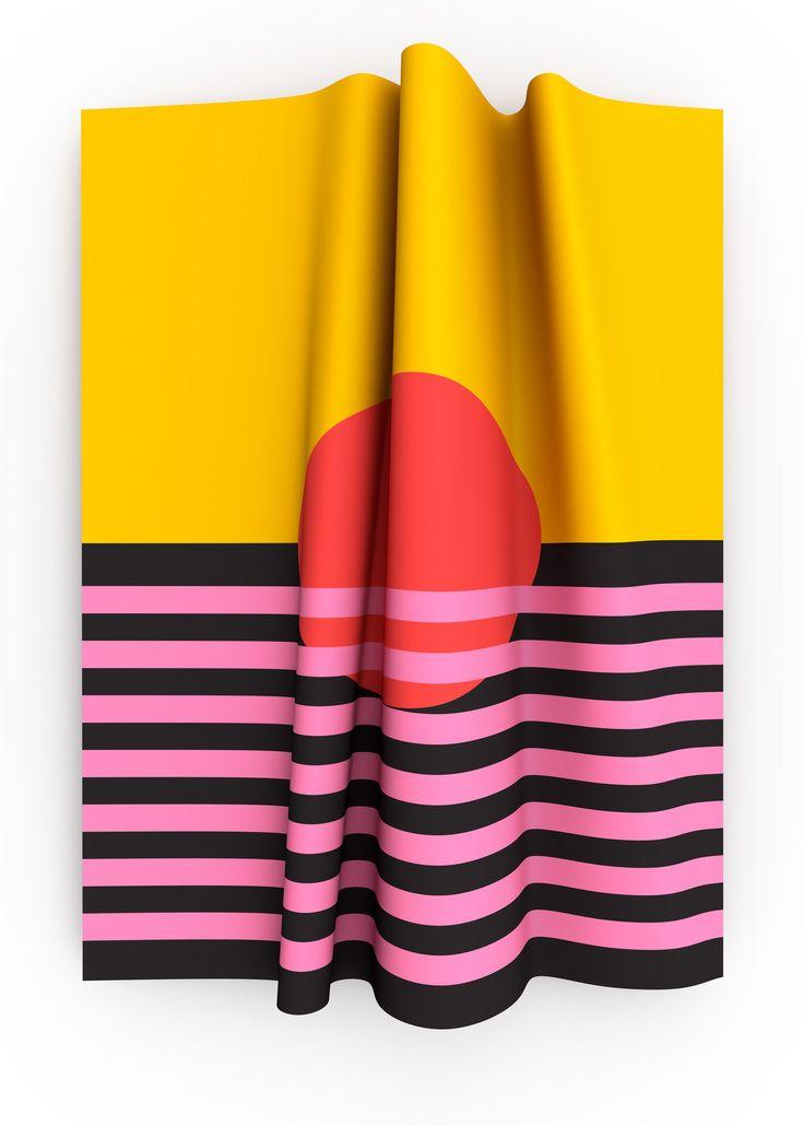 Folded shapes - Kevin Olberg