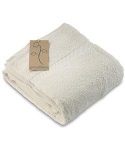 organic terry cotton bath towel
